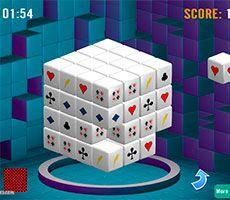 Mahjongg Dimensions 3D