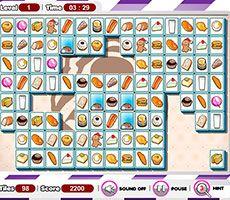 Mahjong de Comida
